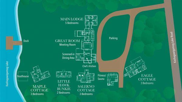 Haliburton Post House Map